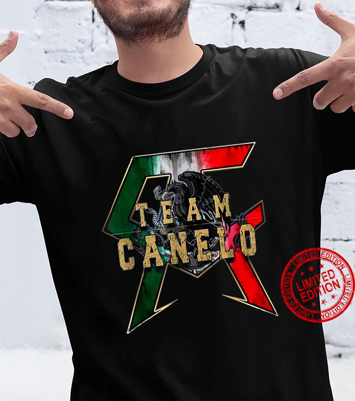 Canelos Saul Alvarez Boxer Shirt