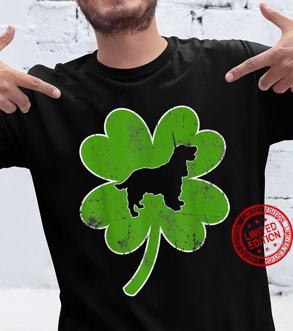 Cocker Spaniel Dog Shamrock St. Patrick's Day Irish Shirt