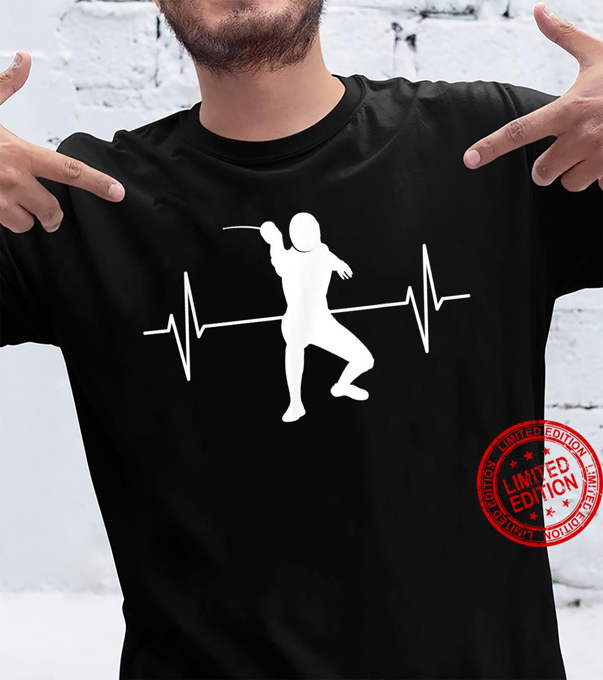 Fencing ECG Line Fencing Fencing Children Shirt