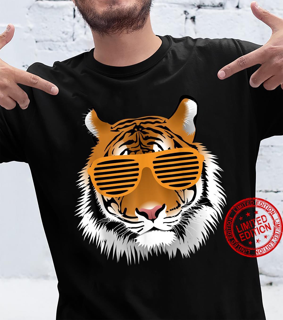 Geburtstag Shirt für Jungen Cool Tiger Streifen Tier Mottoparty Shirt