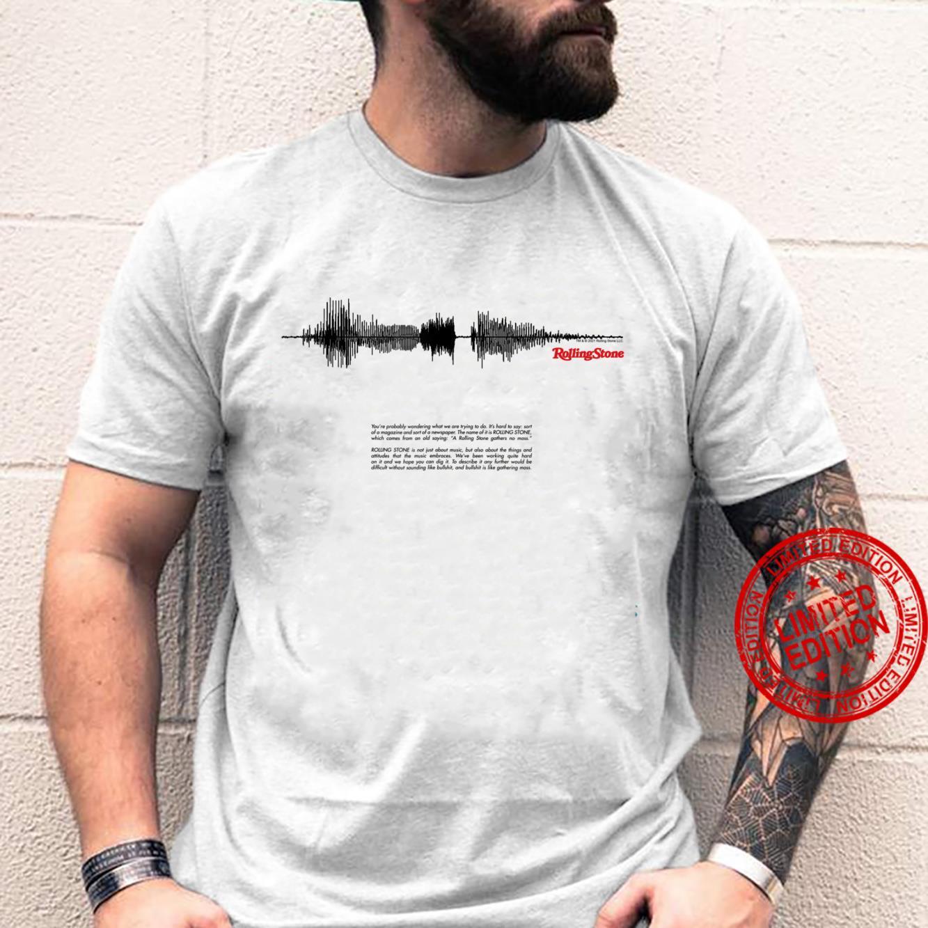 Rolling Stone Soundwave Shirt