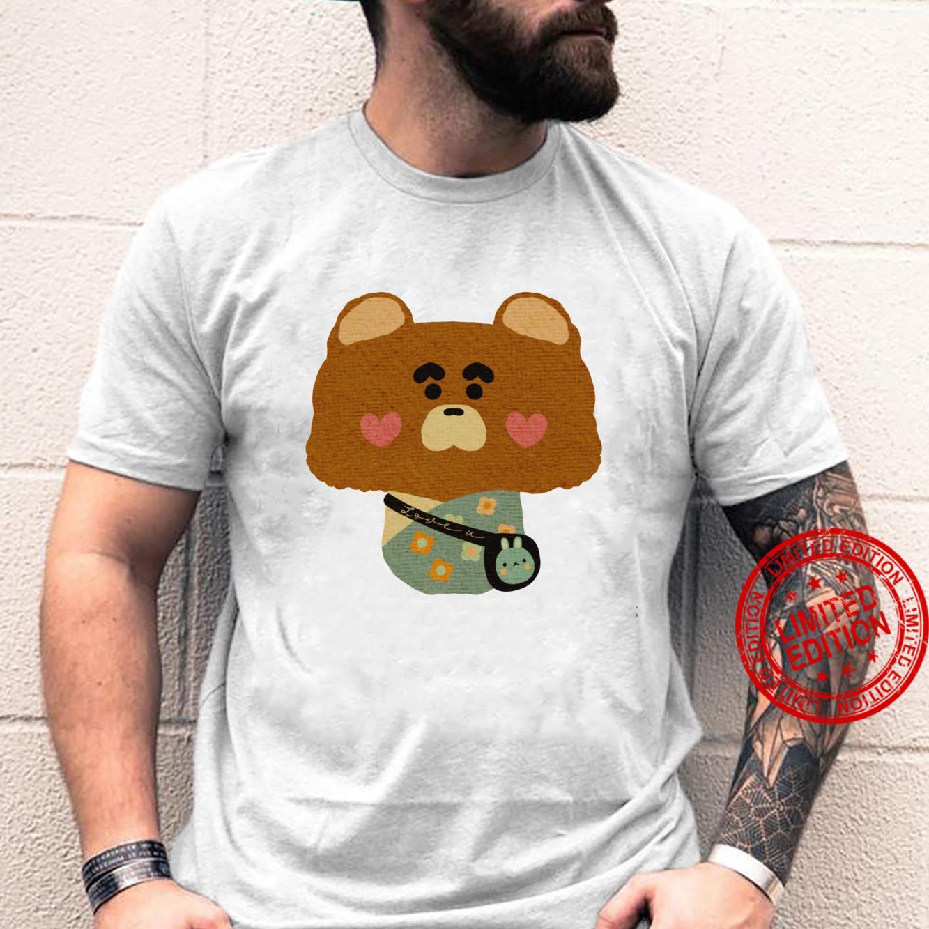 Valentine bear love you will you be my valentine Shirt