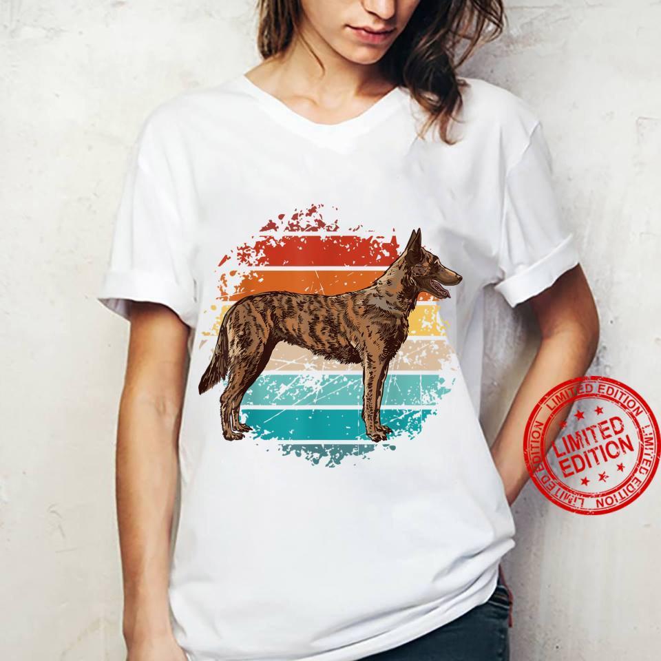 Weinlese böhmischer Schäferhund, tschechischer Schäferhund Shirt ladies tee