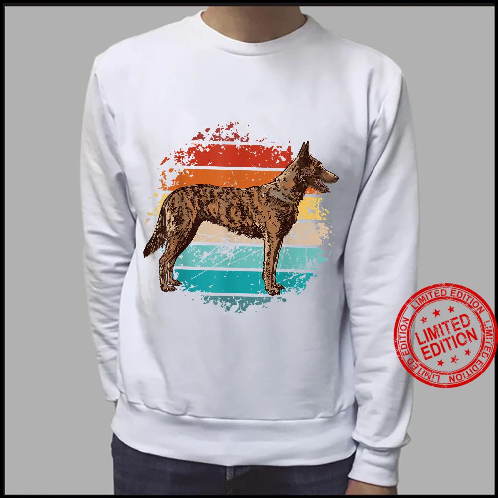 Weinlese böhmischer Schäferhund, tschechischer Schäferhund Shirt sweater