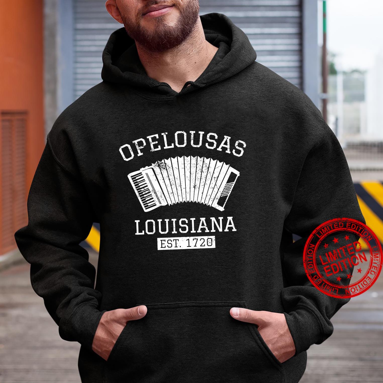 Zydeco Creole Cajun Opelousas Louisiana Shirt hoodie