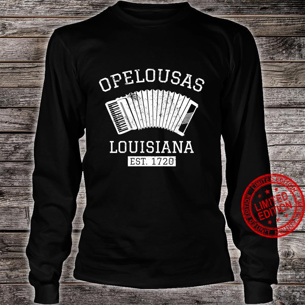 Zydeco Creole Cajun Opelousas Louisiana Shirt long sleeved