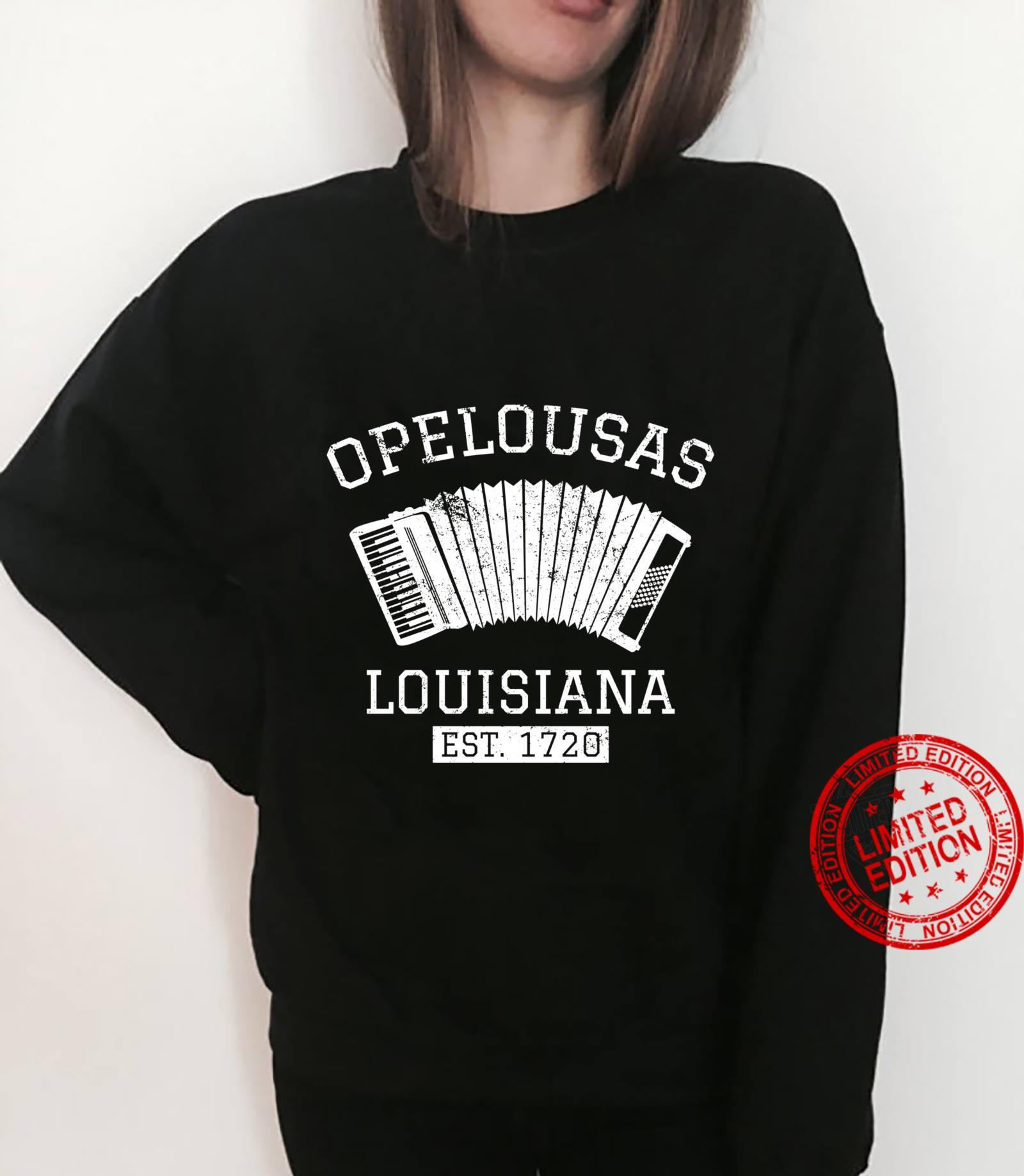 Zydeco Creole Cajun Opelousas Louisiana Shirt sweater