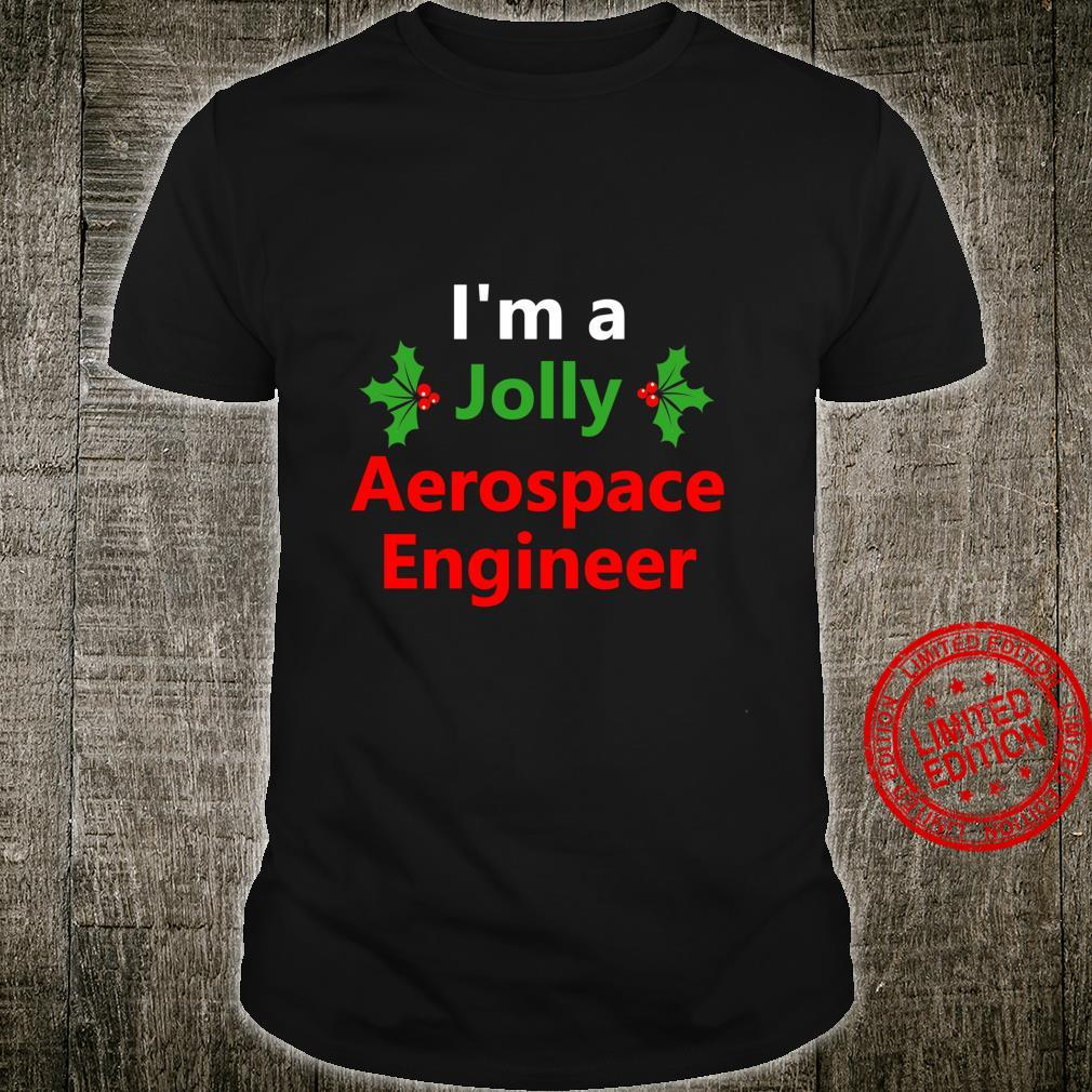 Christmas Aerospace Engineer Job Xmas Career Occupation Shirt