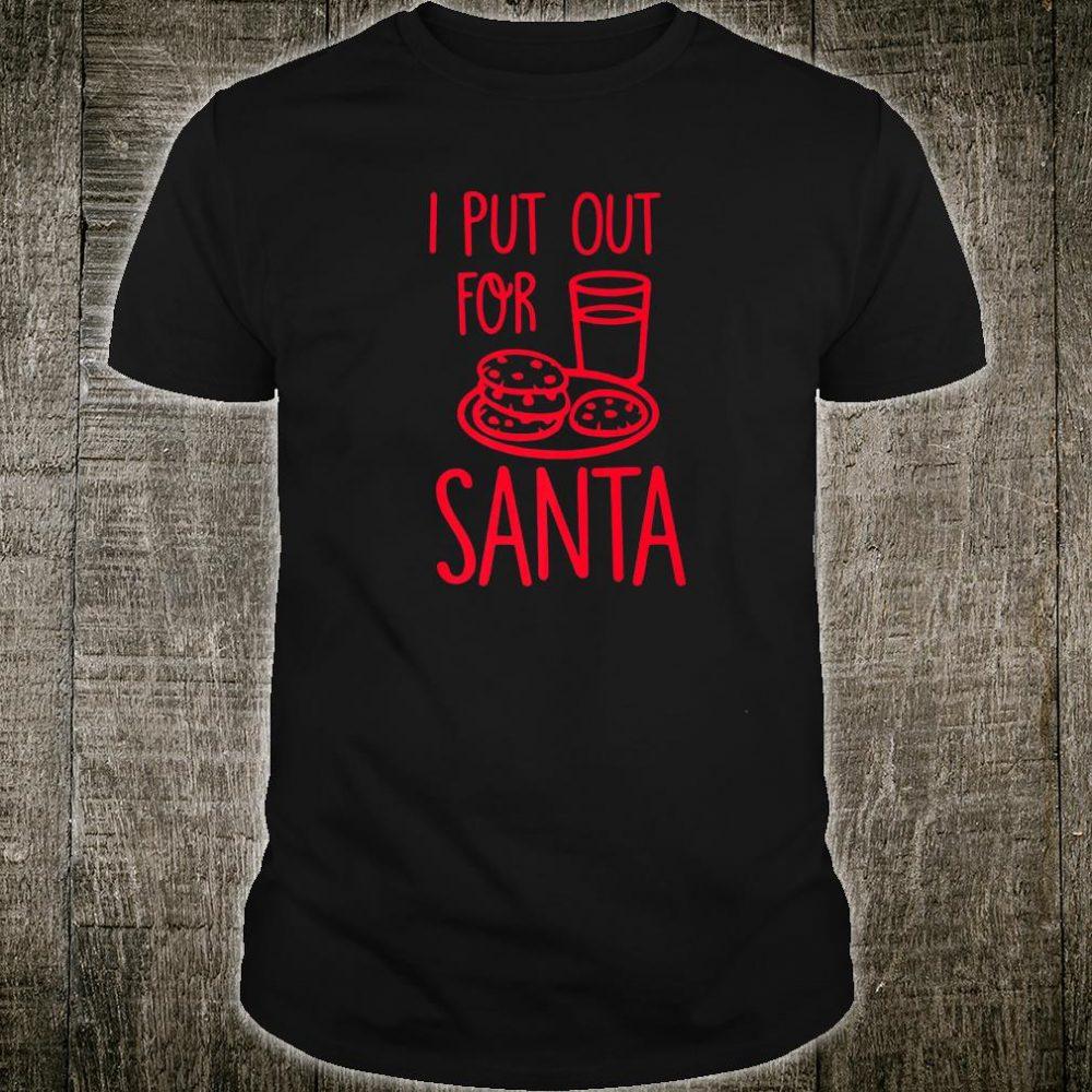 Funny Christmas Santa Food Shirt