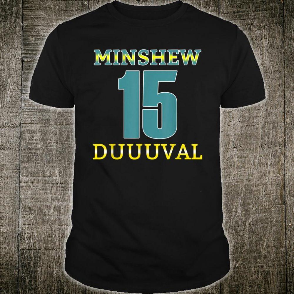 Gardner Minshew Football Minshew Mania In Duuuval Shirt