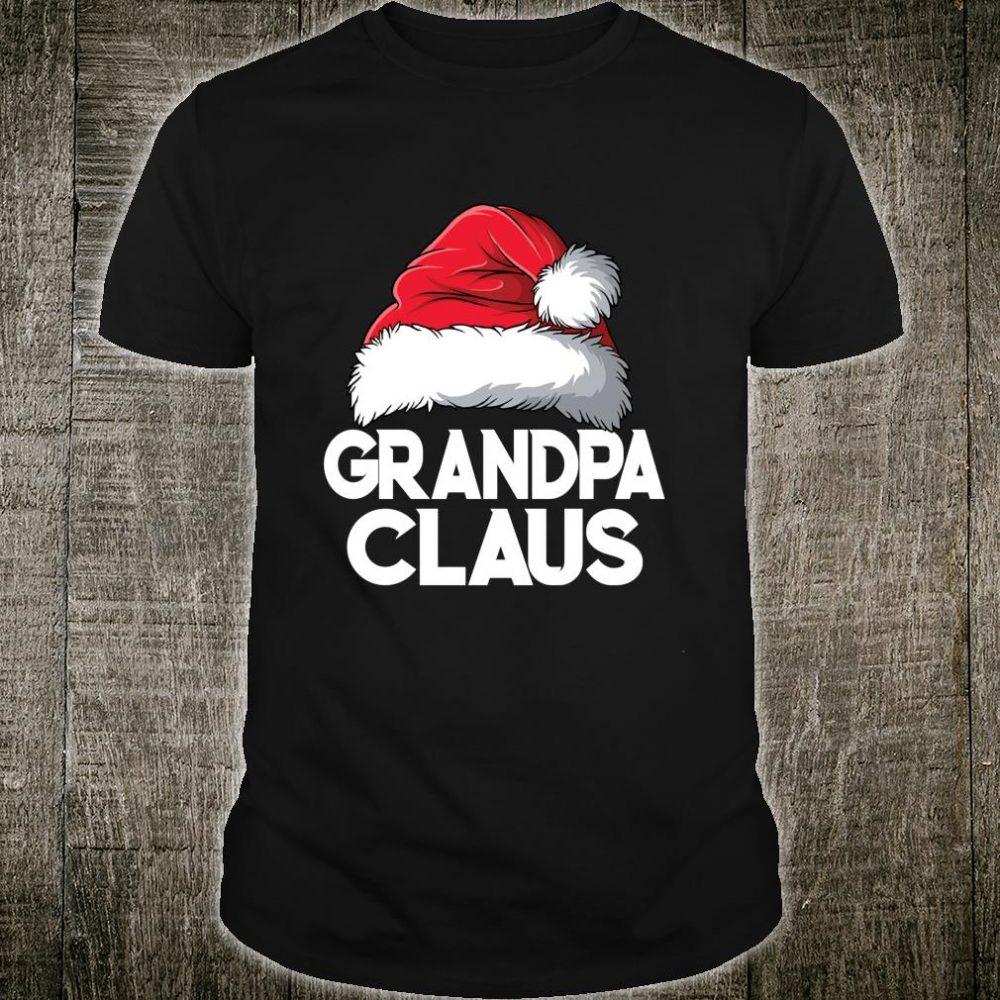 Grandpa Claus Christmas Santa Family Matching Pajamas Shirt