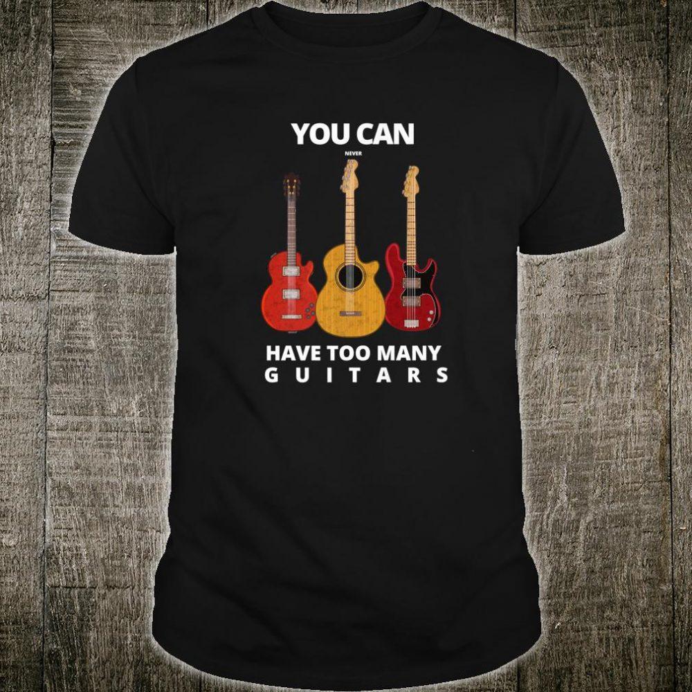 Guitar player Man & Music Shirt
