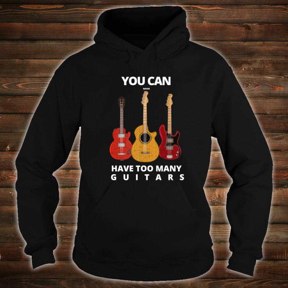 Guitar player Man & Music Shirt hoodie