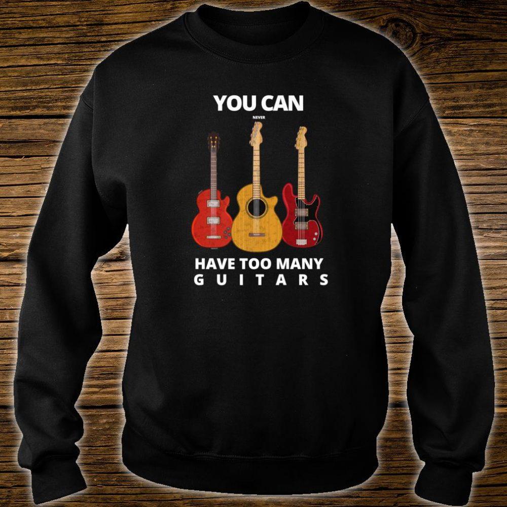 Guitar player Man & Music Shirt sweater