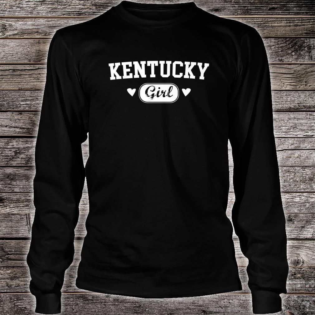 Kentucky Girl Athletic Born Raised Home State Pride Shirt long sleeved