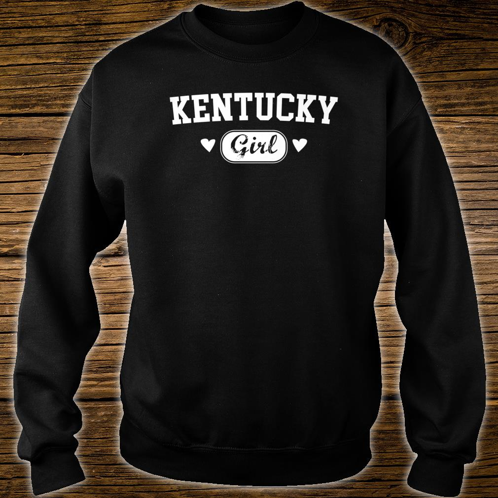 Kentucky Girl Athletic Born Raised Home State Pride Shirt sweater