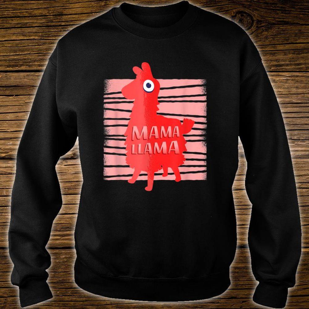 Llama for Moms Who Love Llamas Mama Llama Shirt sweater