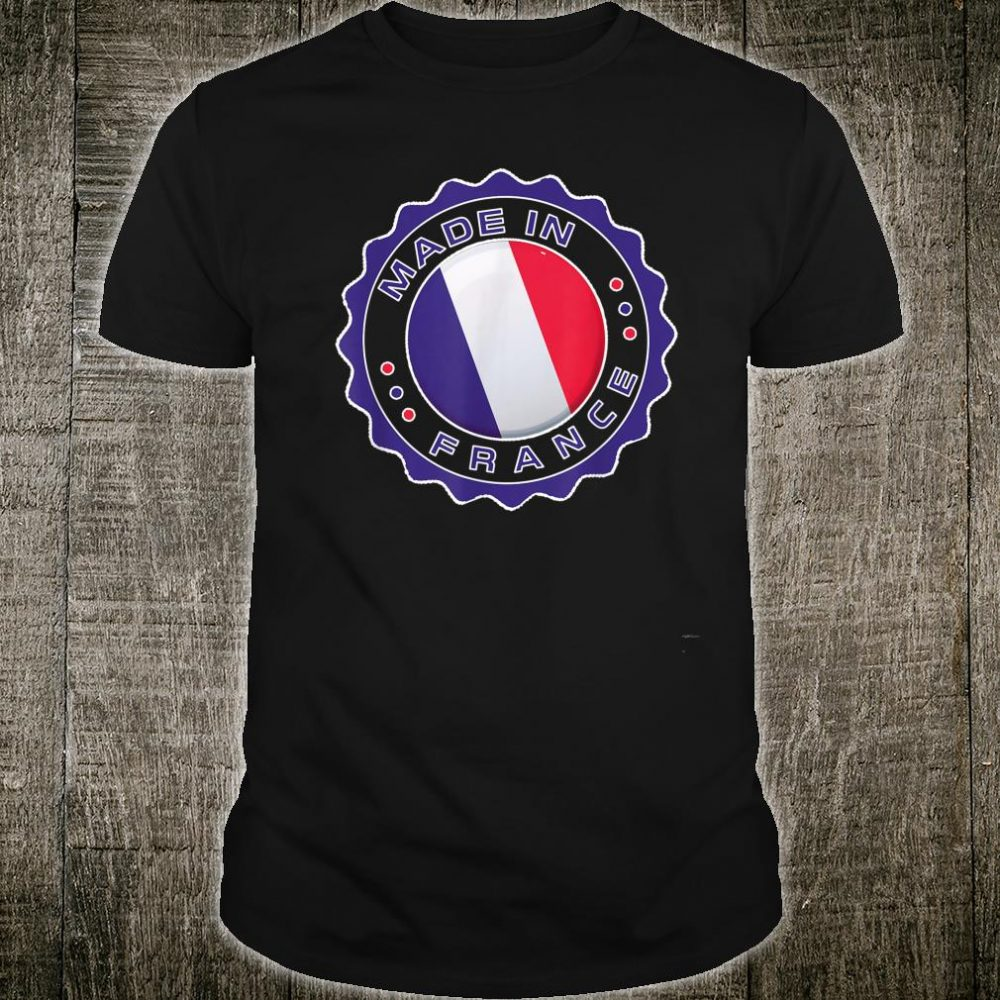 Made in FRANCE Modern Seal FRANCE Flag Shirt