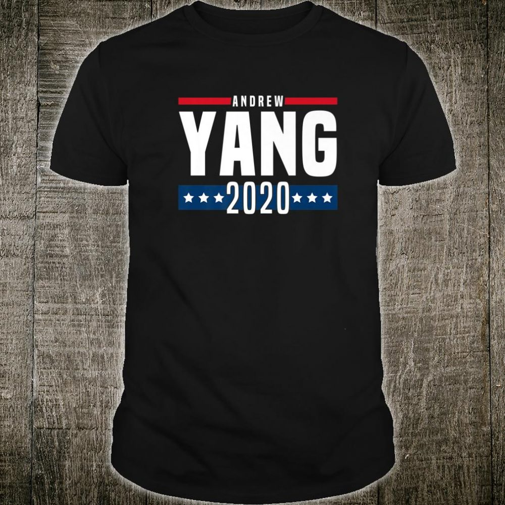 Make America Think Harder MATH Andrew Yang 2020 Shirt