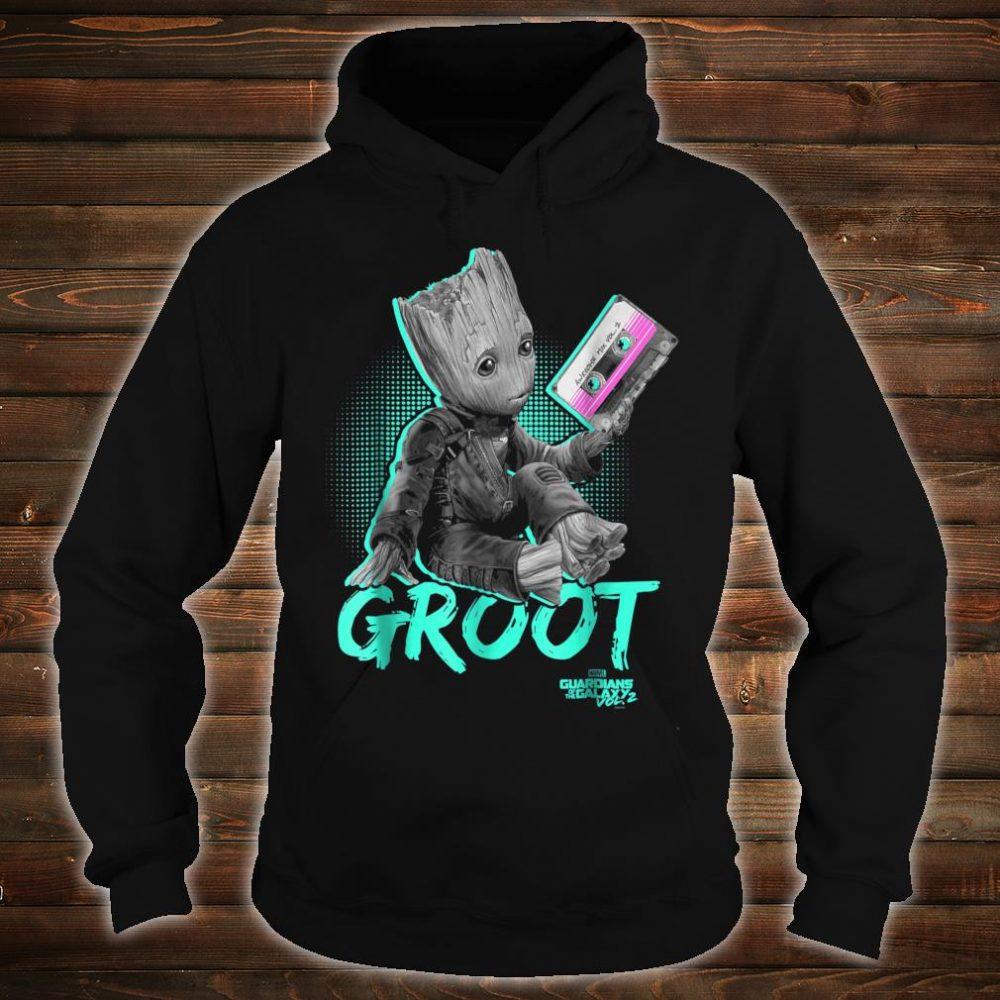 Marvel Guardians Vol. 2 Baby Groot Neon Tape Shirt hoodie