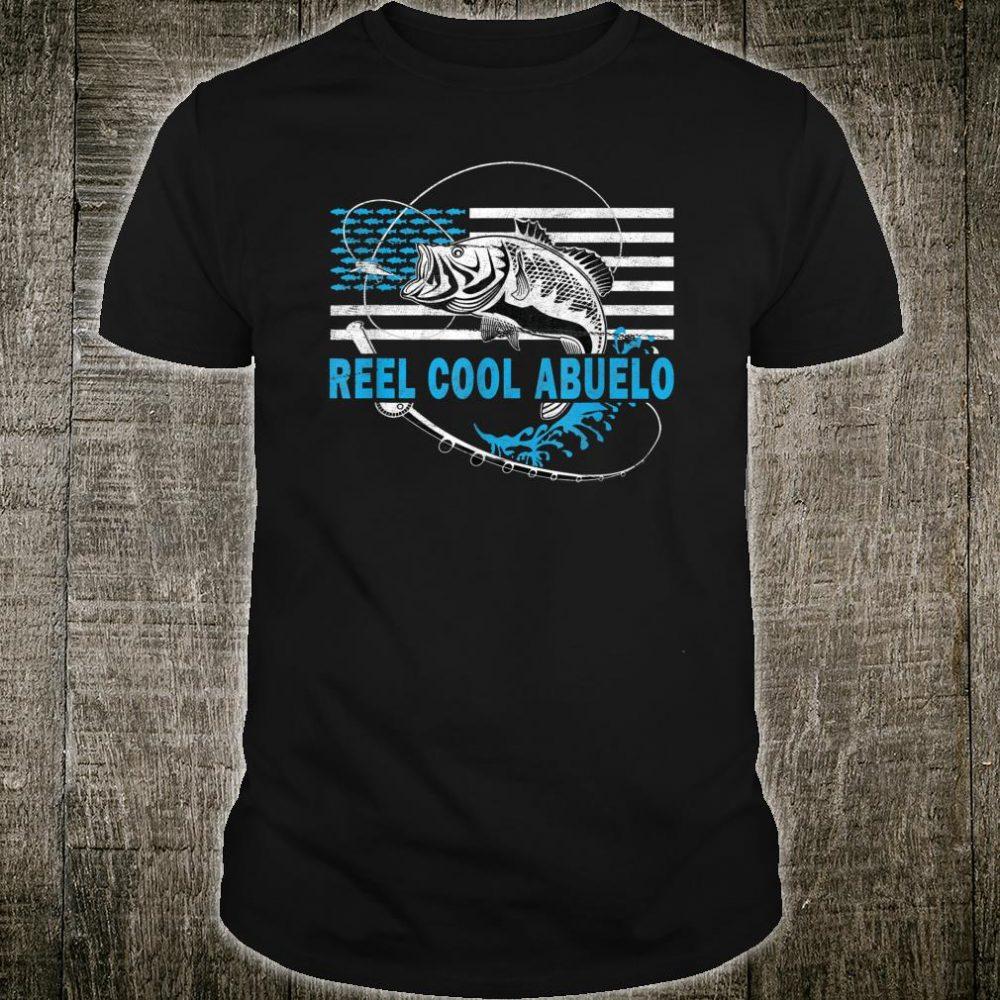 Mens Reel Cool Abuelo Fishing for grandfather Shirt