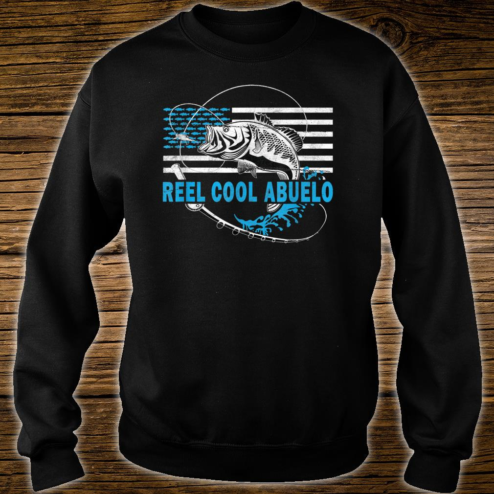 Mens Reel Cool Abuelo Fishing for grandfather Shirt sweater