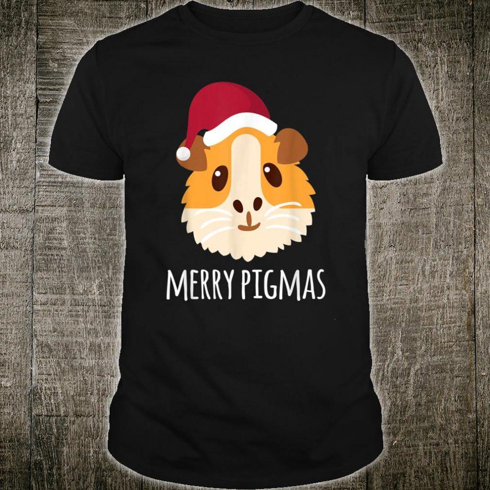 Merry Pigmas Christmas Guinea Pig Shirt