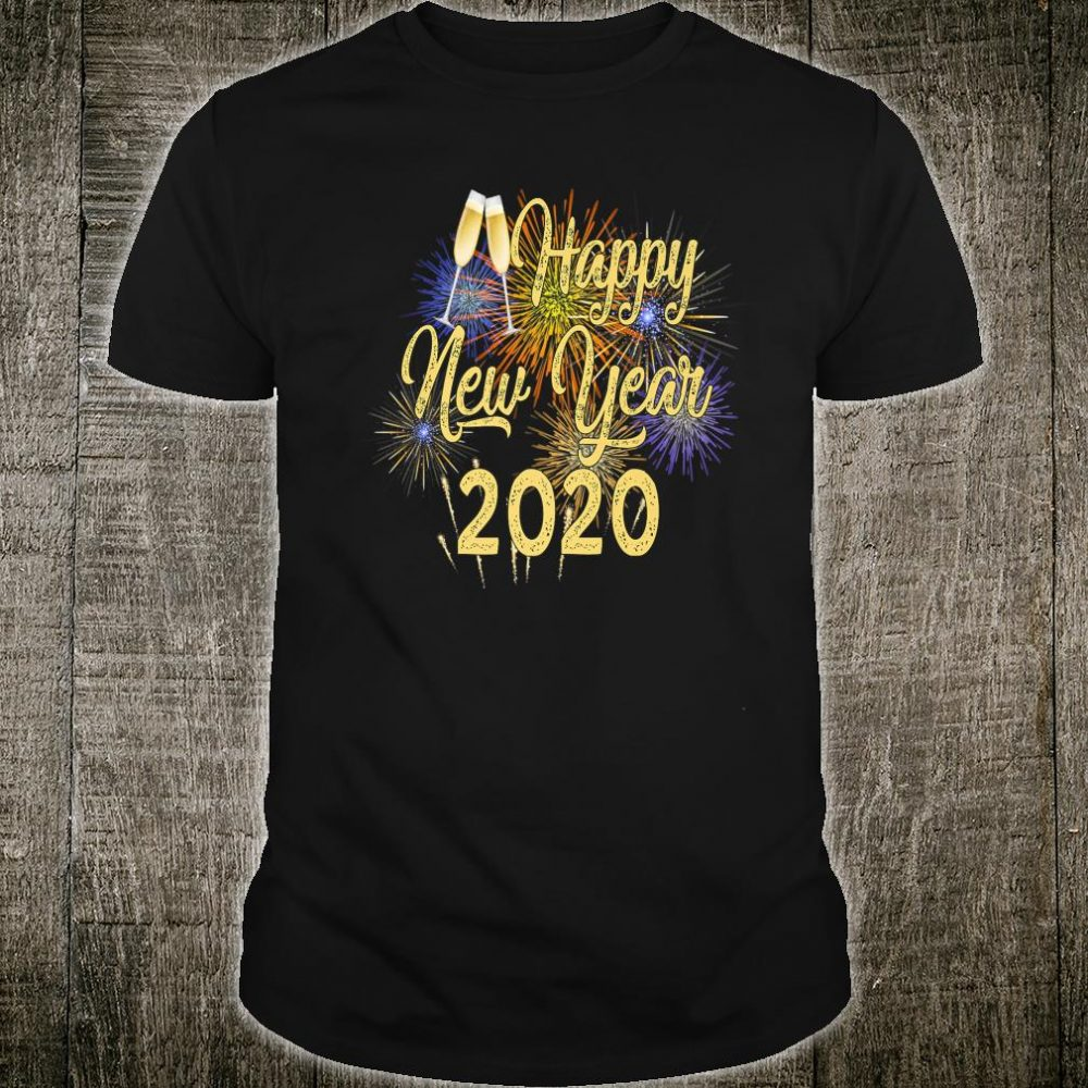 New Years Eve Special Fireworks Happy New Year 2020 Shirt