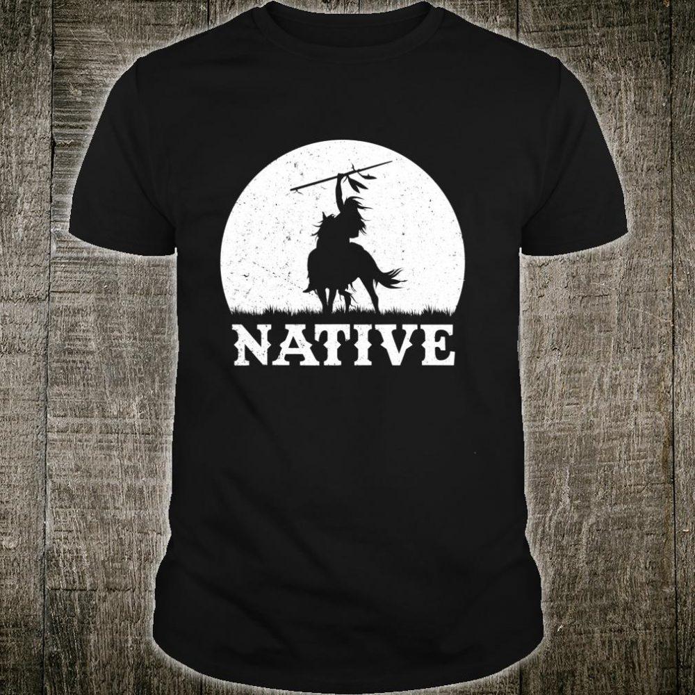 Northwest Native American Knight Pride Mountain Warrior Shirt