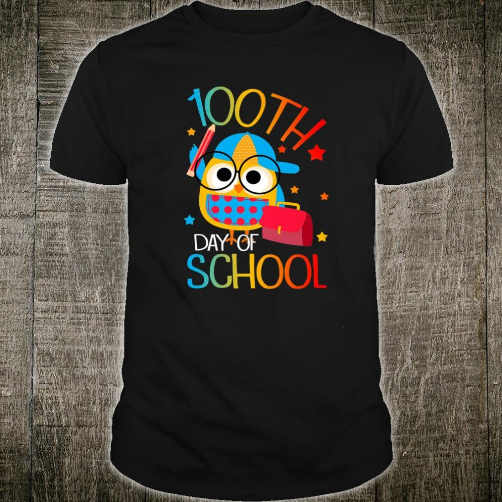 OWL Cute 100th Day of School For Teacher & Student Kid Shirt
