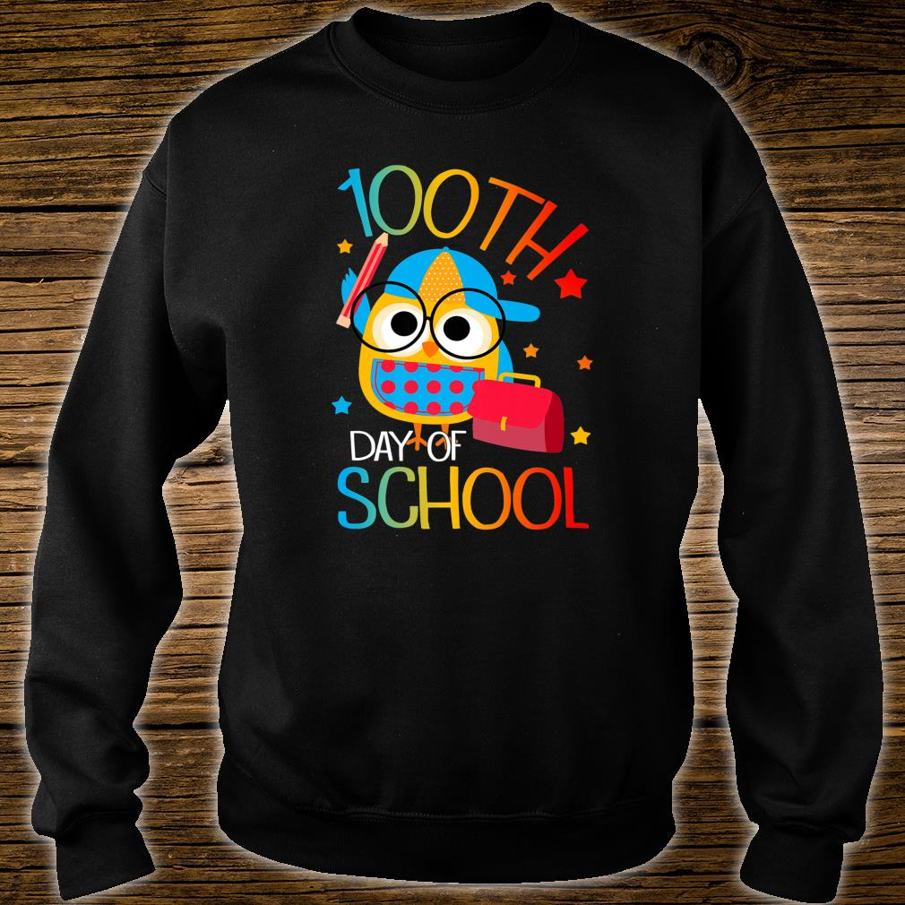 OWL Cute 100th Day of School For Teacher & Student Kid Shirt sweater