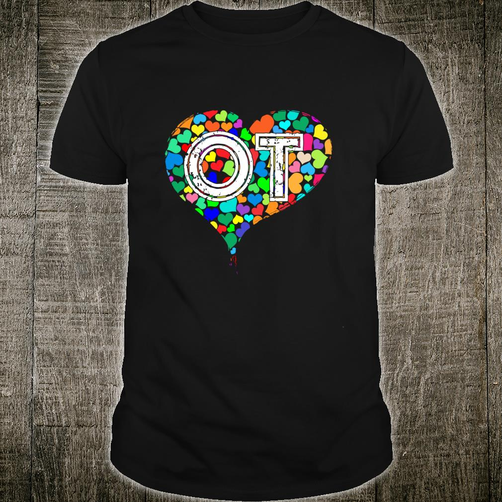 Occupational Therapy Vintage Stressed Shirt
