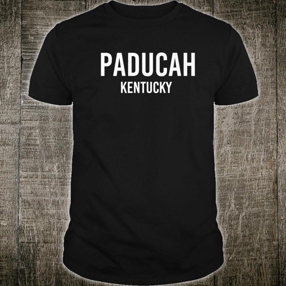 PADUCAH KENTUCKY KY USA Patriotic Vintage Sports Shirt