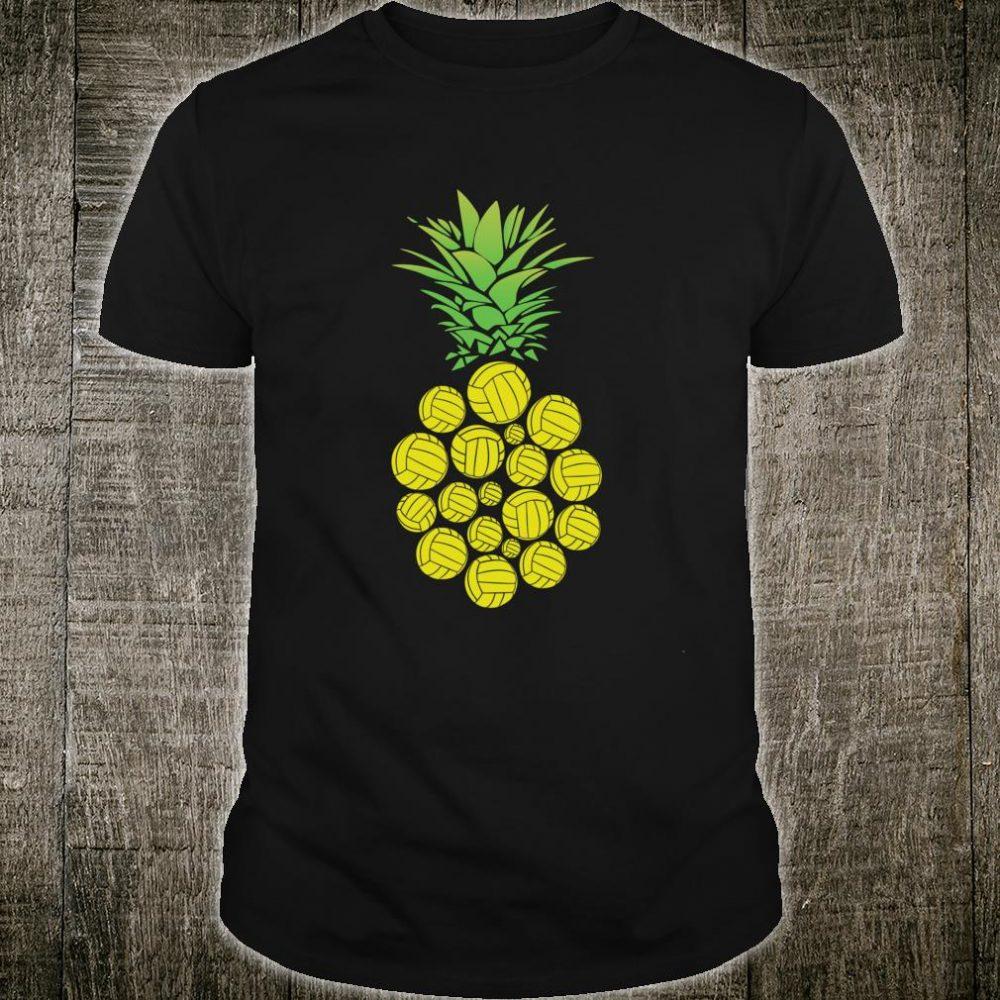 Pineapple Volleyball Fruit Beach Hawaii Hawaiian Shirt