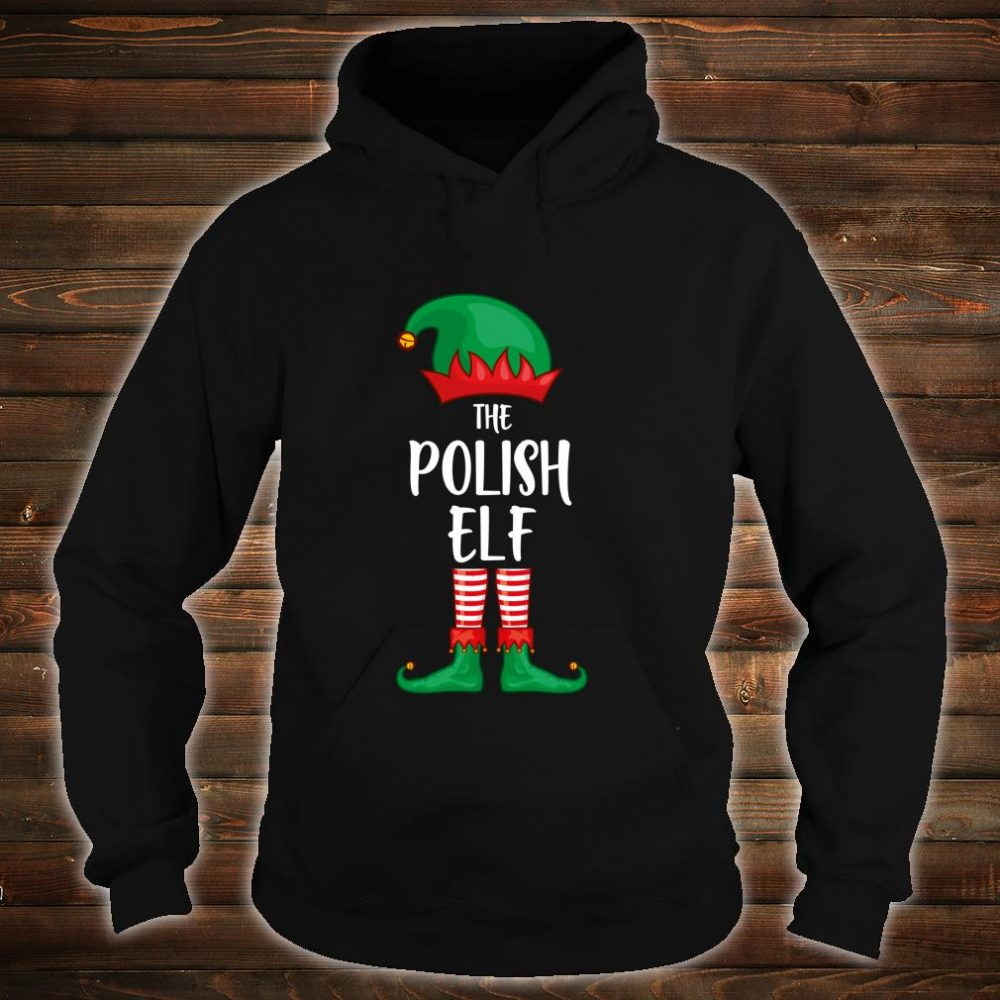 Polish Elf Christmas Party Matching Family Group Pajama Shirt hoodie
