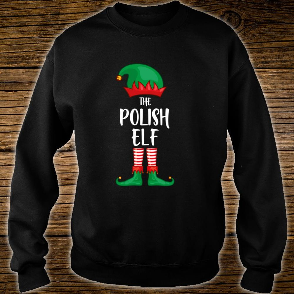 Polish Elf Christmas Party Matching Family Group Pajama Shirt sweater