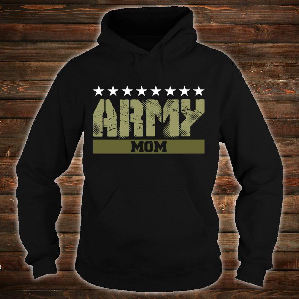Proud Army Mom Shirt hoodie