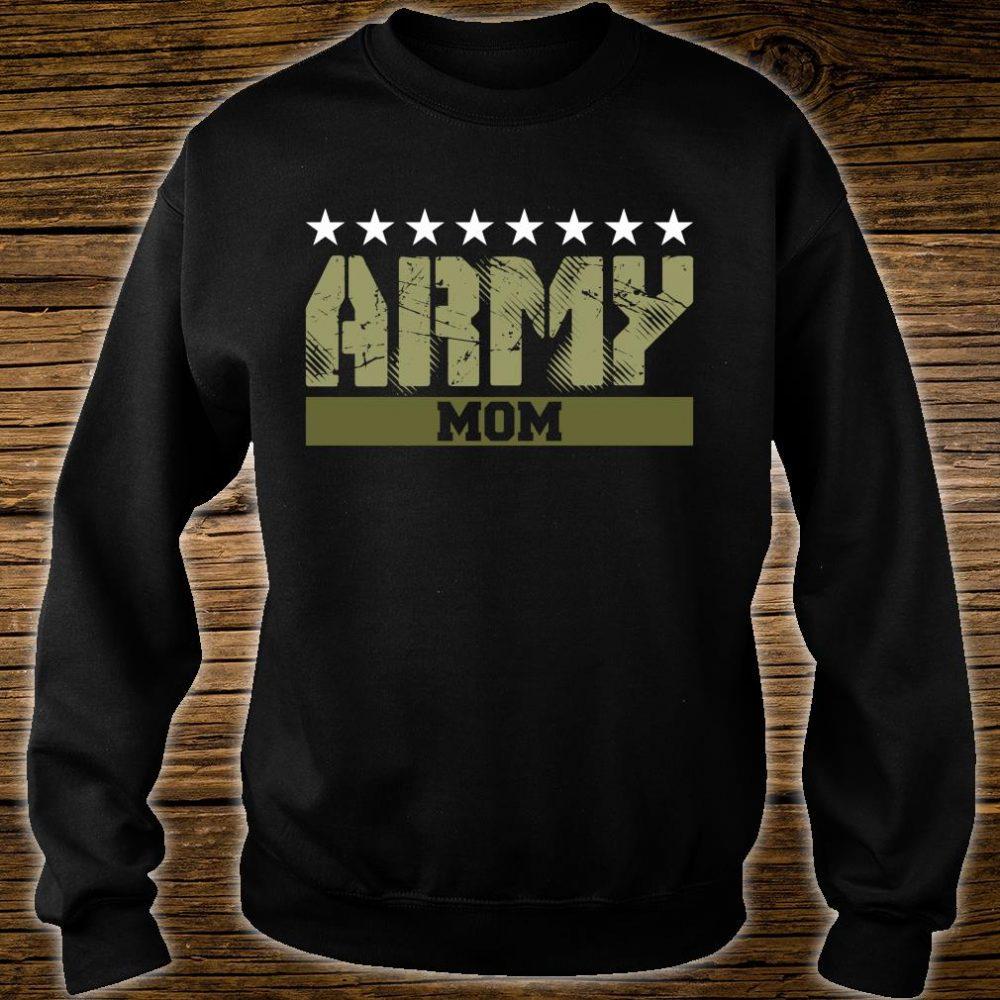 Proud Army Mom Shirt sweater