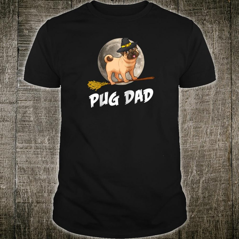 Pug Dad Halloween Couple Matching Shirt