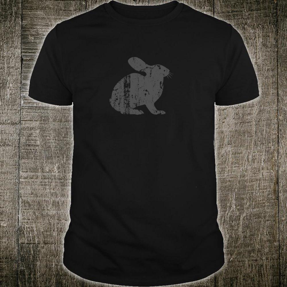Rabbit Vintage Design Rabbit Print Shirt