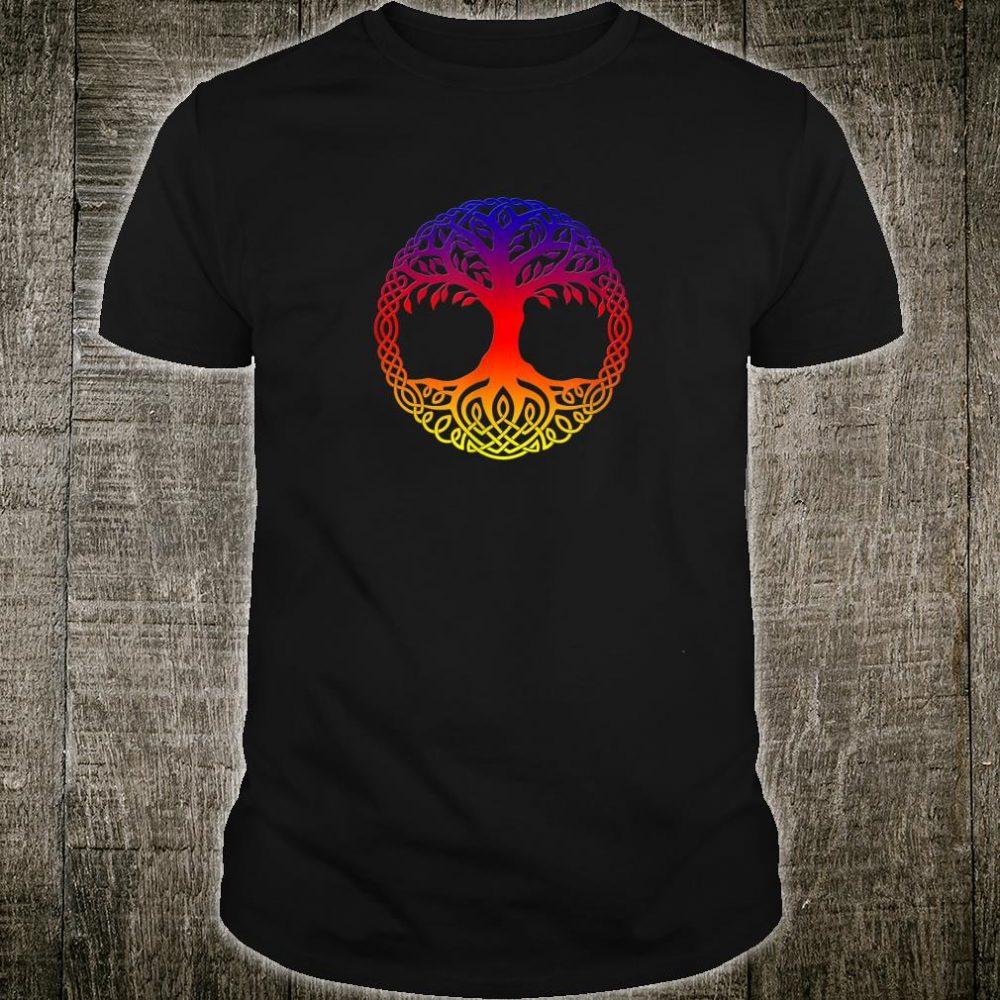 Rainbow Tree of Life Yggdrasill Shirt Shirt