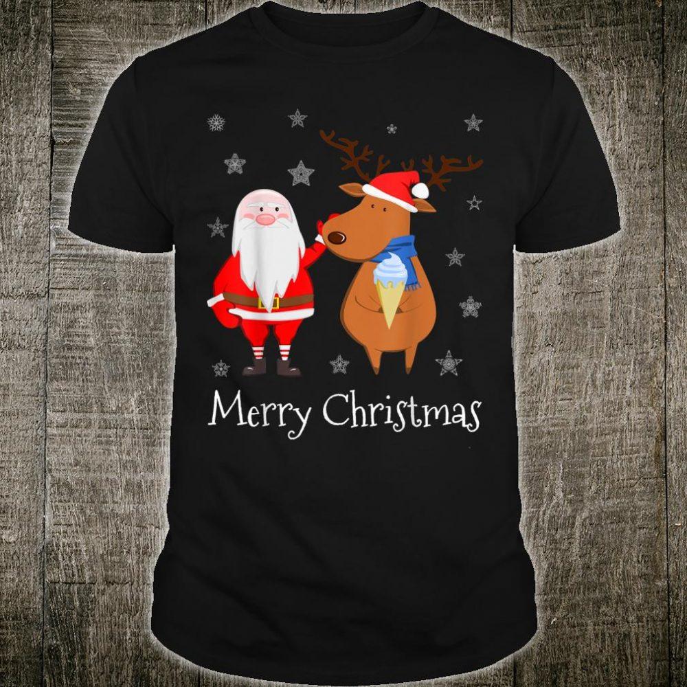 Reindeer Ugly Christmas Shirt