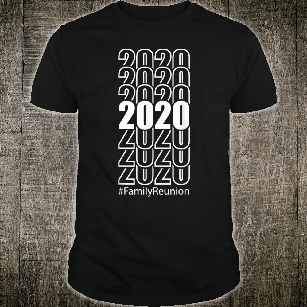 Retro 2020 Family Reunion Proud Family Vacation Shirt