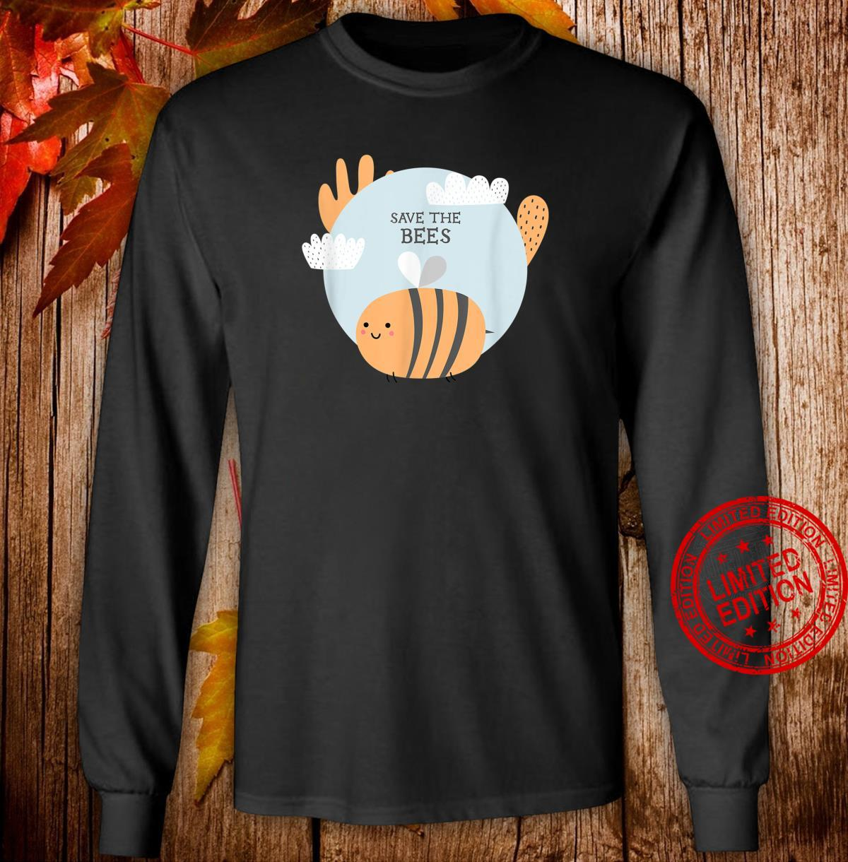 Rettet die Bienen Save The Bees Shirt long sleeved