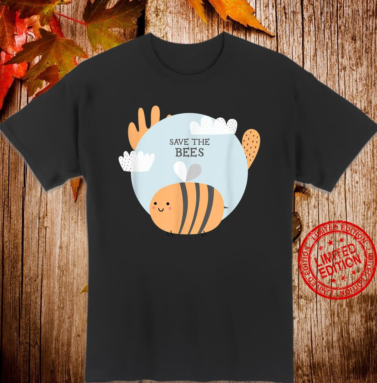 Rettet die Bienen Save The Bees Shirt