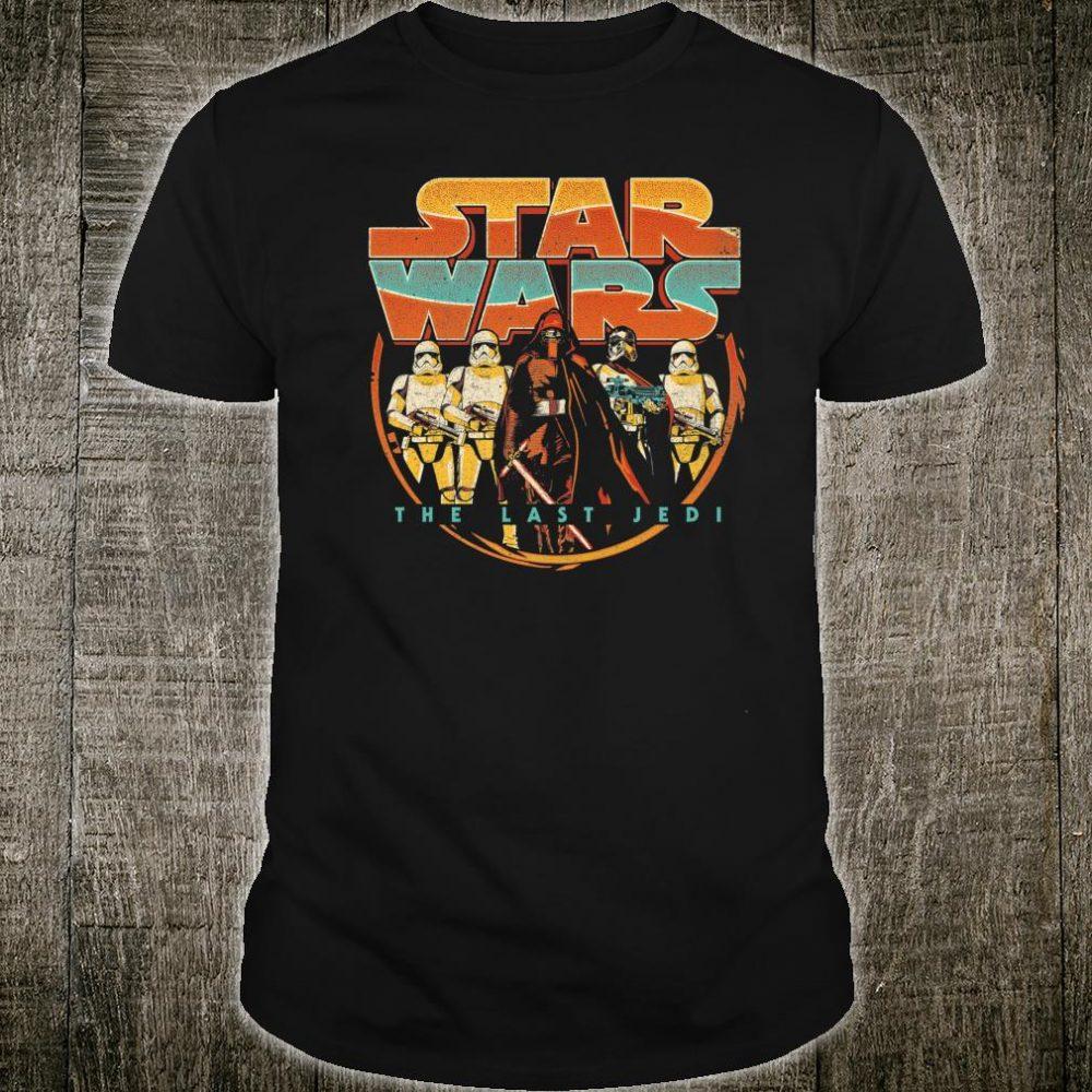 Star Wars Last Jedi Vintage Retro Kylo Ren Shirt