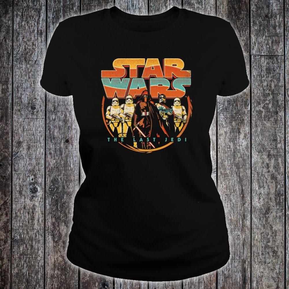 Star Wars Last Jedi Vintage Retro Kylo Ren Shirt ladies tee