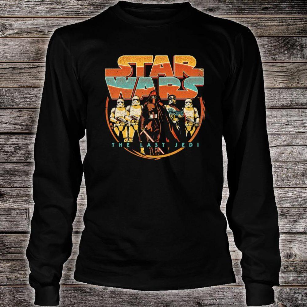 Star Wars Last Jedi Vintage Retro Kylo Ren Shirt long sleeved