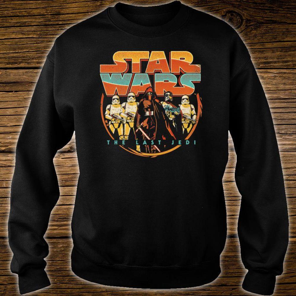 Star Wars Last Jedi Vintage Retro Kylo Ren Shirt sweater