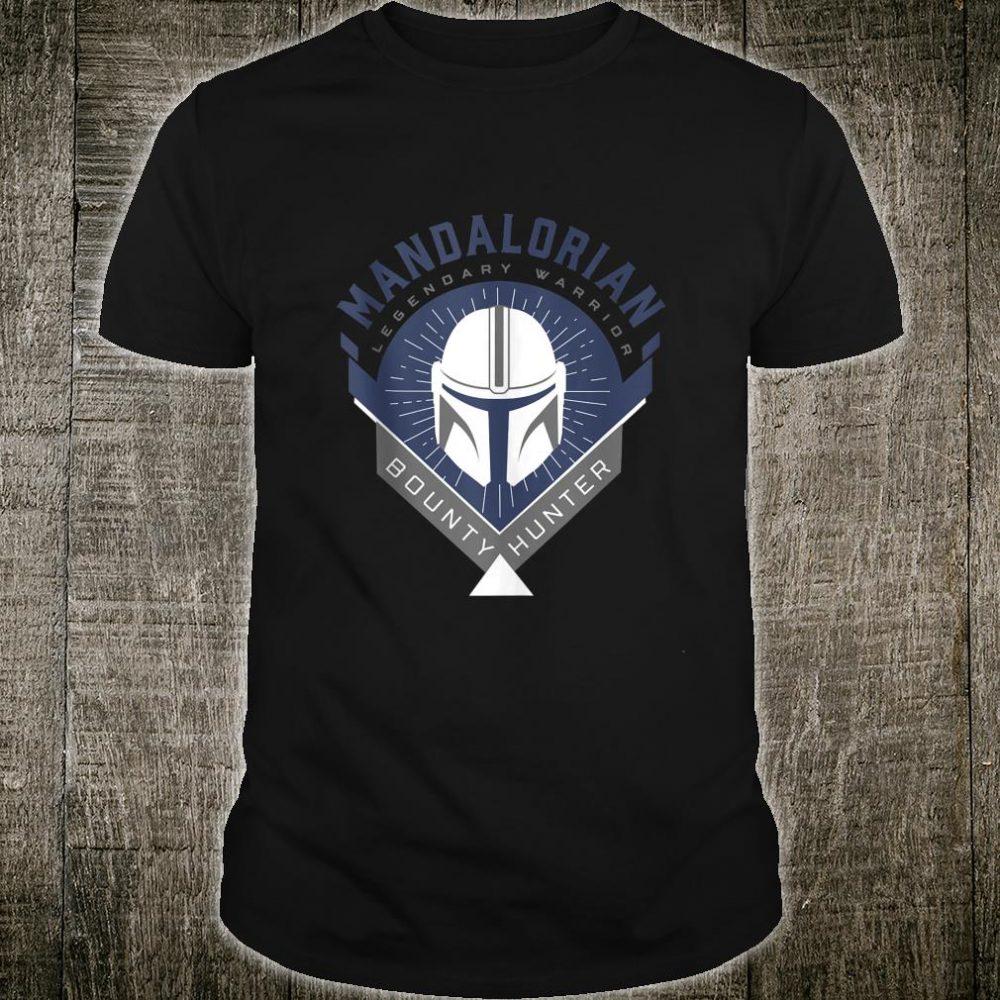 Star Wars The Mandalorian Legendary Warrior Crest Shirt